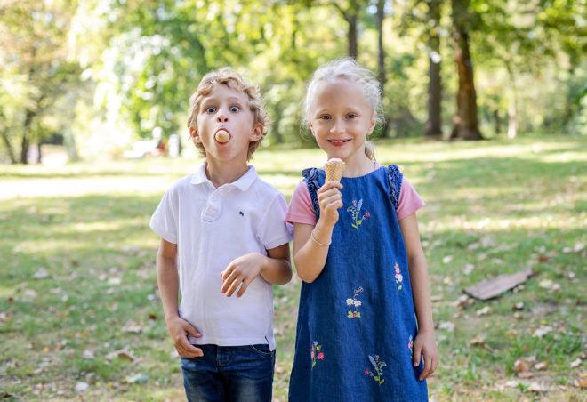 Kinderfotos mit Zwillingen Berlin