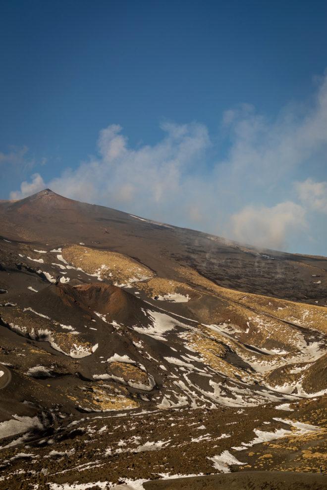 Wandbild Etna Fine Art Poster Sizilien Vulkan
