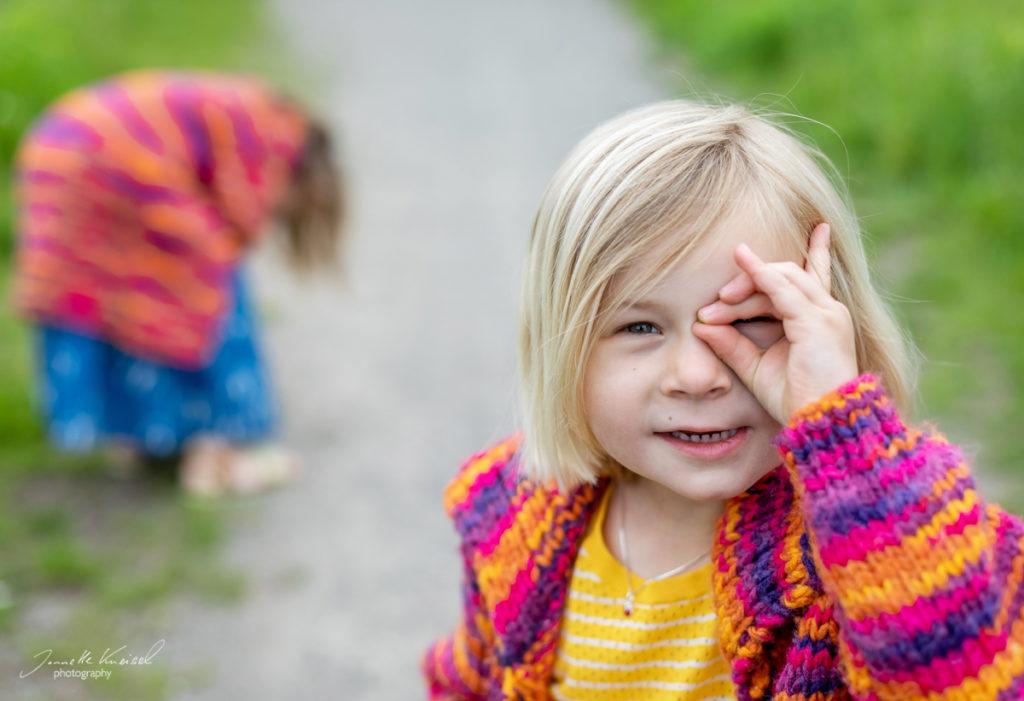 Kinderpotrait outdoor