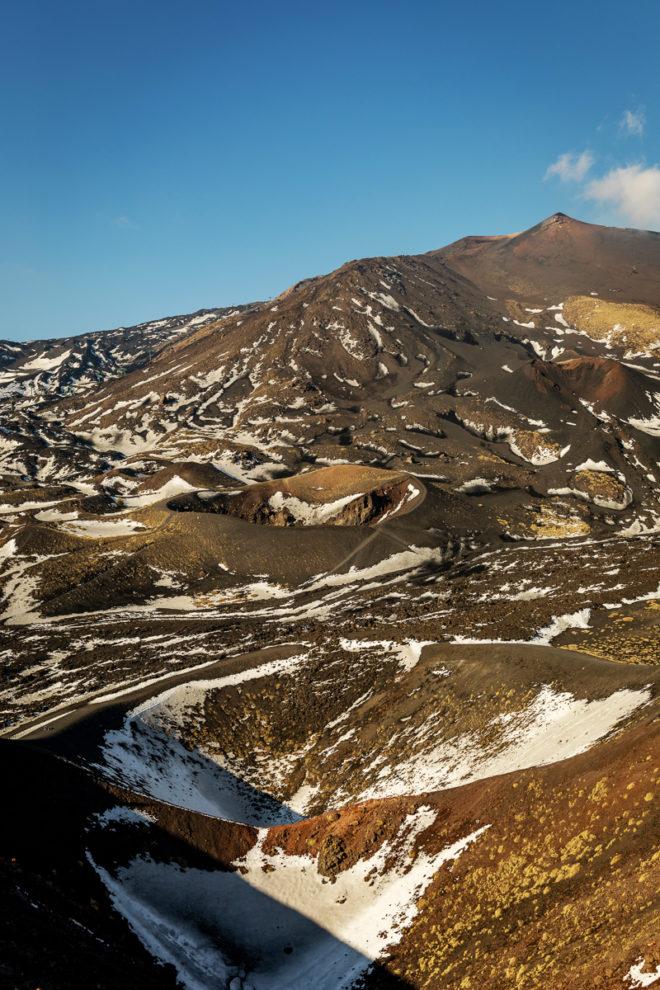 Wandbild Etna Landschaft Fine Art Poster Sizilien