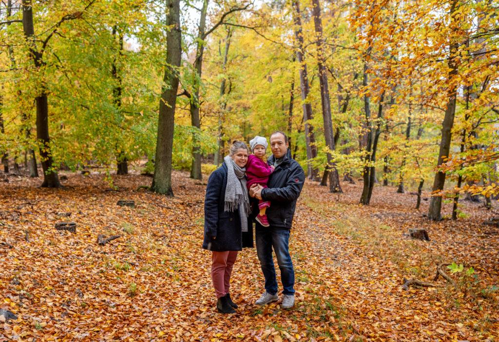 Familien Fotoshooting Outdoor, Footoshooting mit Kind im Herbst