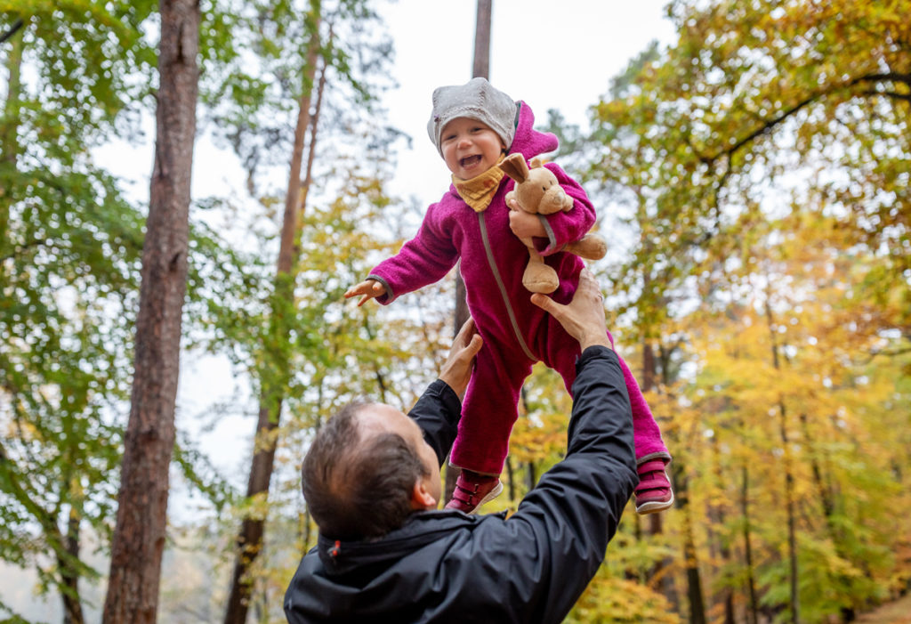 Fotoshooting Vater Tochter, Vater Tochter Bilder Herbst