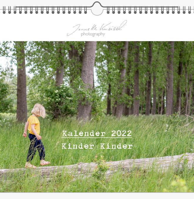 Kinder Kalender 2021, Kalender Kindermotive